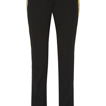 Lanvin - Wool-gabardine straight leg pants