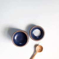 Indigo Pottery Pinch Bowl