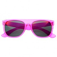 Transparent Sunglasses Pink