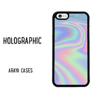 iPhone 6 Case Iphone 6s Case Holographic Phone Case Samsung Galaxy S6 edge Case Grunge Holograph Hologram plus 5 5s 5c 4 4s S4 S5 S7 note
