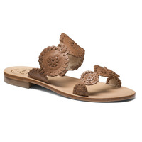 Lauren Sandal in Cognac by Jack Rogers