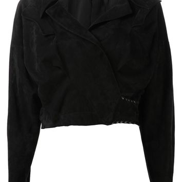 Anthony Vaccarello Cropped Jacket