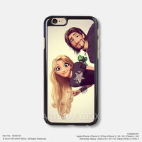 Punk Tangled Rapunzel Disney iPhone Case Black Hard case 436-01