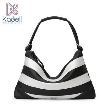 Kadell 2017 New Luxury Elegant Beach Bag Handbags Women Famous Brands High Quality Zipper Shoulder Hobos Bolsos Travel pouch