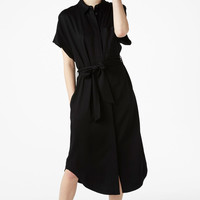 Shirt dress - Black magic - Dresses - Monki IT