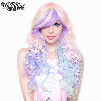 RockStar Wigs® Rainbow Rock™ Collection - Hair Prism 2 (Pastel)-00219