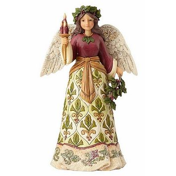 Victorian Angel with Candle-4058755