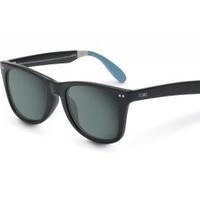 Windward Sunglasses Black Frame Light Blue Tips | TOMS.com