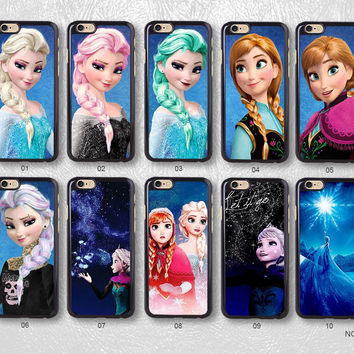 Frozen Protective Phone Case For iPhone case & Samsung case, 056