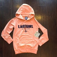 LAKE GIRL - FRENCH TERRY HOODIE
