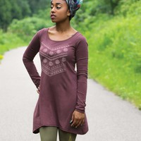 NEW! Geo Warrior Organic Cotton Tunic Top