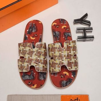 Hermes Fashion MEN Casual Running Sport Shoes Sneakers Slipper Sandals High Heels Shoes