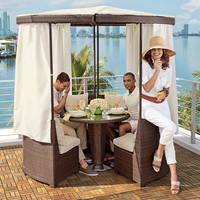 Coco Island Gazebo at Brookstone—Buy Now!