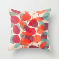LUNARIA Throw Pillow by Chicca Besso