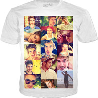 Joey Graceffa Vibrant Collage