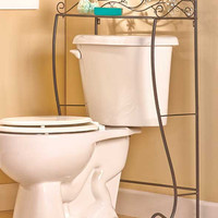 Copy of Copy of Jeweled Accent Bathroom Collections Space-Saver Table