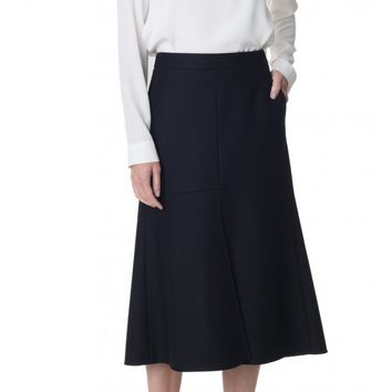 Tibi Esquire Fluted Skirt