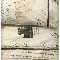 Love Letters Sheet Set-Anthropologie.com