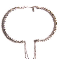 Vanessa Mooney Diamant Choker Silver One