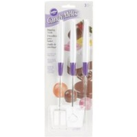 Wilton 1904-1017 Candy Melt Dipping Tool, Set of 3 Multi-Colored - Walmart.com