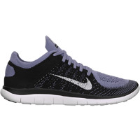 Nike Free 4.0 Flyknit Men's Running Shoes - Iron Purple