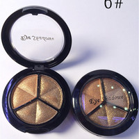Mixed Colors Women Comestic Eyeshadow Long Lasting Makeup Eye Shadow