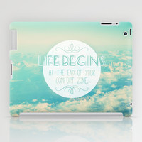 Quote iPad Case by Jane Mathieu