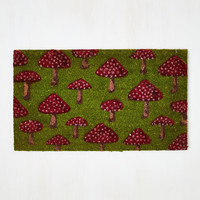 Mushrooms Fungi Fresh Doormat by ModCloth