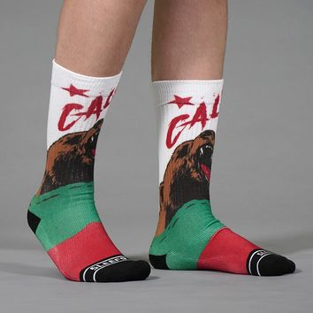 California Cali Bear Soft Socks