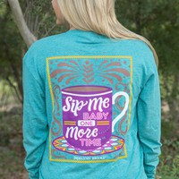 Jadelynn Brooke: Sip Me Baby One More Time L/S {Heather Jade}