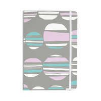 "Emine Ortega ""Retro Circles Pastel"" Everything Notebook"