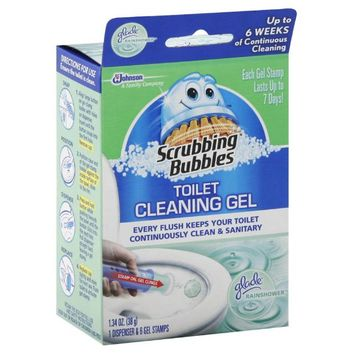 Scrubbing Bubbles® 6-Count Toilet Cleaning Gel