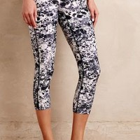 Marbled Crop Leggings