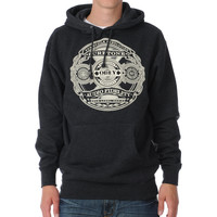 Obey Puretone Charcoal Grey Pullover Hoodie at Zumiez : PDP
