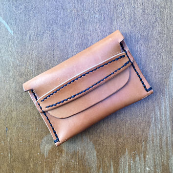 Flap Wallet - Veg Tan