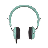 Turntable Adjustable Headphones in Turquoise