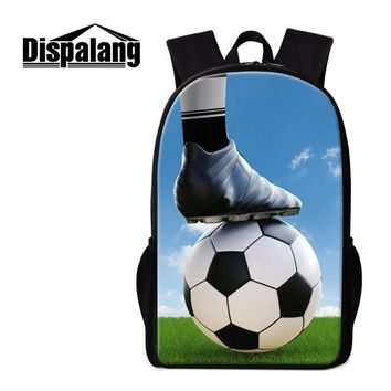 Boys bookbag trendy Dispalang Coolest Soccer Backpack for Teen Boys Students Travel  Personalized Satchel for Girl Children Mochilas Day Pack AT_51_3