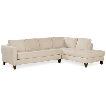 Rylee Fabric 2 Piece Sectional Sofa