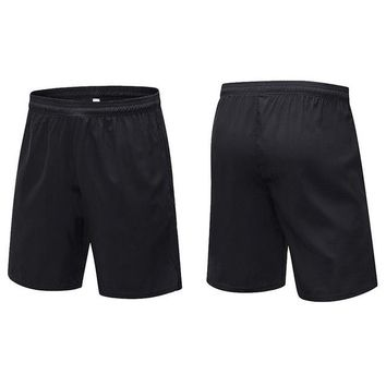 Men's Solid Colors Basketball Shorts With Pocket