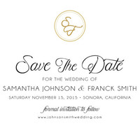 Save The Date - Gold