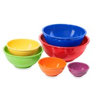 Oggi™ Melamine 6-Piece Mixing Bowl Set