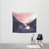 Energy. Wall Tapestry by Viviana Gonzalez