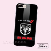 Hot Dodge RAM Logo Automotive CASE COVER iPhone 6s/6s+/7/7+/8/8+, X and Samsung