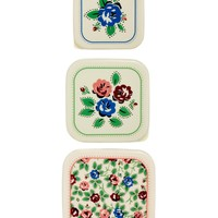 bling Rose Set of 3 Snack Boxes