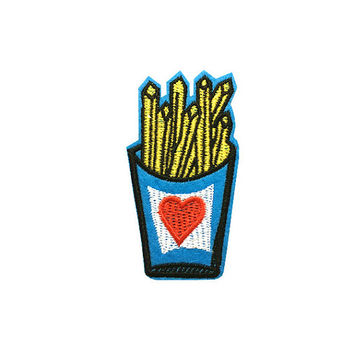 iron on patch food Chips patch embroidered patch iron on patch cartoon patch sew on patch iron on patches