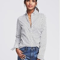 Fitted Non-Iron Boomerang Shirt