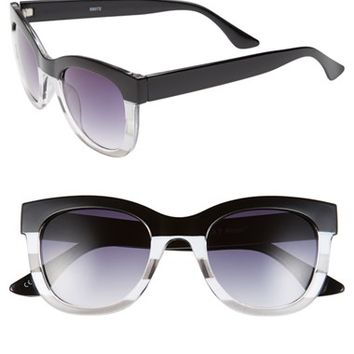 Women's A.J. Morgan 'Marissa' 51mm Oversized Sunglasses