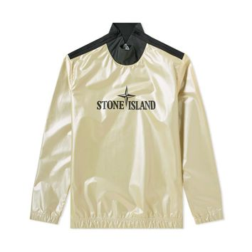 Iridescent Matte Pullover Jacket by Stone Island