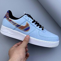 Nike Air Force 1 personality wild breathable cushioning shoes
