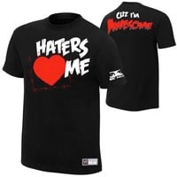 The Miz Haters <3 Me Authentic T-Shirt - WWE
